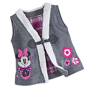 Minnie Mouse Vest for Baby