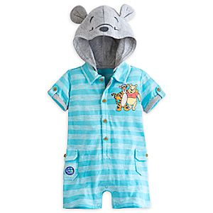 Pooh and Tigger Knit Romper for Baby