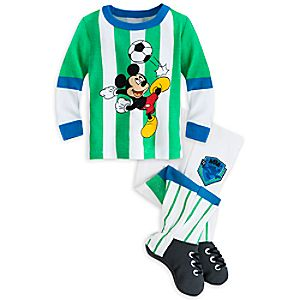 Mickey Mouse Footed PJ PALS for Boys