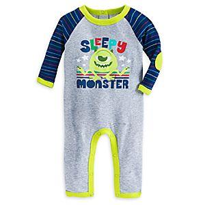 Mike Wazowski Stretchie Sleeper for Baby