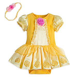 Belle Bodysuit Costume for Baby