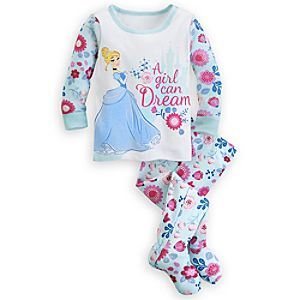 Cinderella Footed PJ PALS for Baby