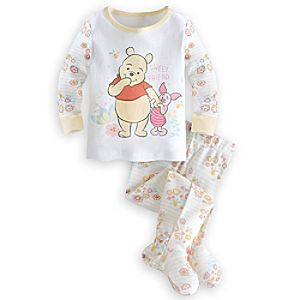 Winnie the Pooh Footed PJ PALS for Baby