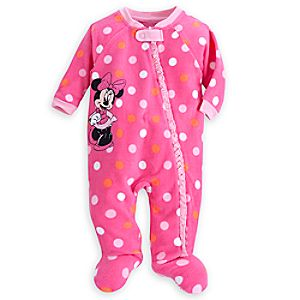 Minnie Mouse Blanket Sleeper for Baby