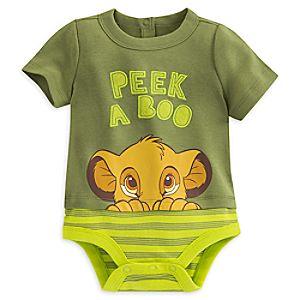 The Lion King Disney Cuddly Bodysuit