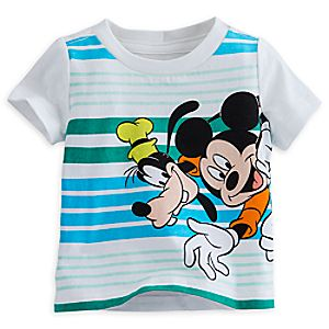 Mickey Mouse and Goofy Tee for Baby