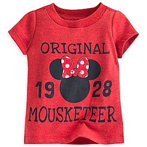 Minnie Mouse Icon Mouseketeer Tee for Baby