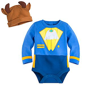 Beast Bodysuit Costume Set for Baby - Personalizable
