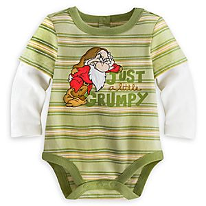 Grumpy Disney Cuddly Bodysuit for Baby