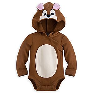 Chip Costume Bodysuit for Baby