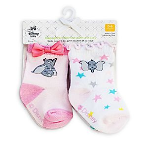 Dumbo Socks for Baby - 2-Pack - Pink
