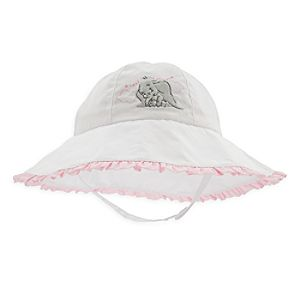 Dumbo Sun Hat for Baby - White