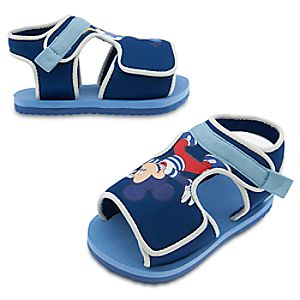 Mickey Mouse and Donald Duck Swim Shoes for Baby