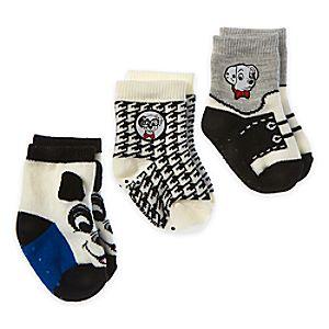 101 Dalmatians Sock Set for Baby - 3-Pack - Boys
