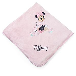 Minnie Mouse Layette Blanket for Baby - Personalizable
