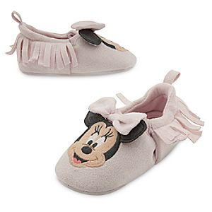 Minnie Mouse Layette Crib Shoe for Baby
