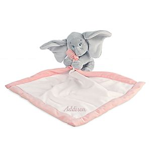 Dumbo Plush Blankie for Baby - Personalizable