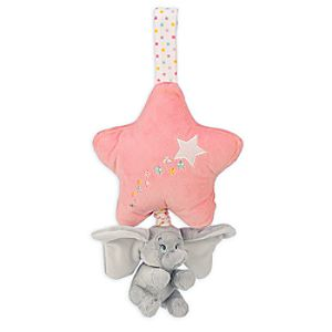 Dumbo Plush Musical Pull for Baby - Pink
