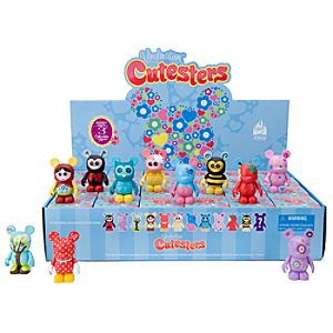 Vinylmation Cutesters 1 Series Figures - 3 - Tray of 24-Pc.