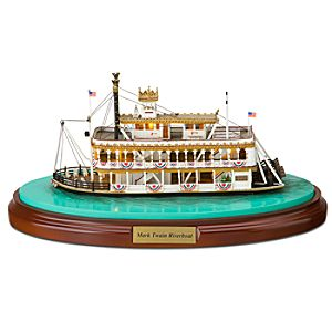 Disneyland Mark Twain Riverboat Miniature by Olszewski
