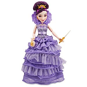 Mal Coronation Doll - Descendants - 11''