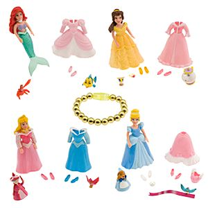 Princess Favorite Moments 4-Pack Mini Doll Set