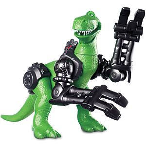 Rex Battle Armor Action Figure - Toy Story That Time Forgot
