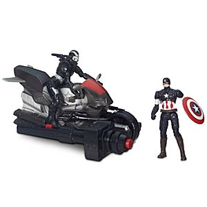 Captain America & Marvels War Machine Action Figure Set - 2 1/2