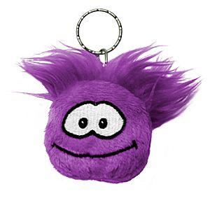 Club Penguin Purple Puffle Keychain