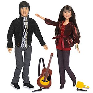 Set of 2 Camp Rock Singing Dolls -- Mitchie & Shane