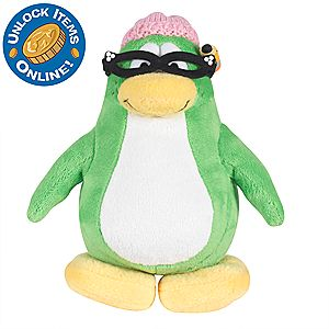 Club Penguin 6 1/2 Limited Edition Penguin Plush - Aunt Arctic