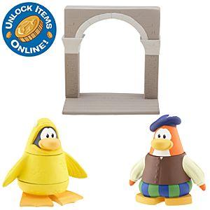 Club Penguin 2 Mix N Match Figure Pack - 12th Fish Costume and Bard