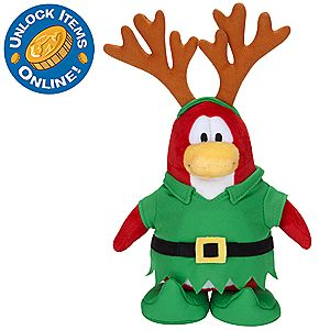 Club Penguin 6 1/2 Limited Edition Penguin Plush - Elf