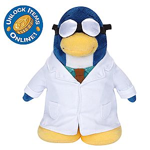 Club Penguin 6 1/2 Limited Edition Penguin Plush - Gary the Gadget Guy