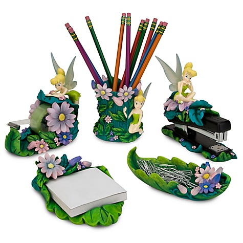 Tinker Bell Desk Set --  5-Pc.