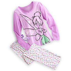 Tinker Bell Pajama Gift Set for Women