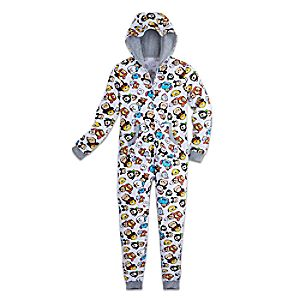 Minnie Mouse and Friends Tsum Tsum Hooded Pajamas for Women