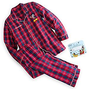 Mickey Mouse Holiday Pajama Set for Men - Personalizable