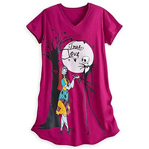 Jack Skellington and Sally Nightshirt for Women