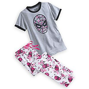 Spider-Man Sleep Set for Women