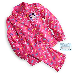 Minnie Mouse Clubhouse Pajama Gift Set for Girls - Personalizable