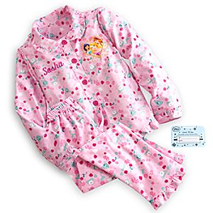 Disney Princess Pajama Gift Set for Girls - Personalizable