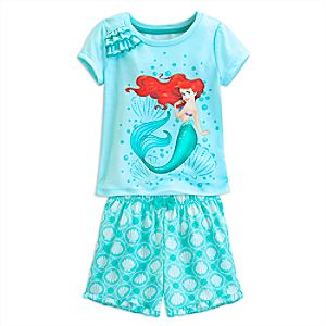 Ariel Short Sleep Set for Girls