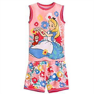 Alice PJ PALS Short Set for Girls