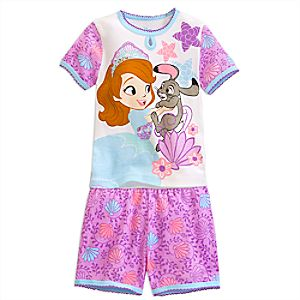Sofia the First PJ PALS Short Set for Girls