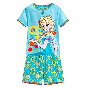 Elsa PJ PALS Short Set for Girls