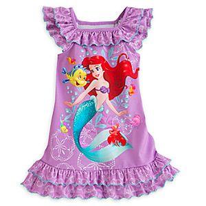 Ariel Nightshirt for Girls