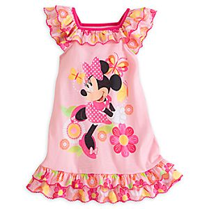 Minnie Mouse Clubhouse Nightshirt for Girls