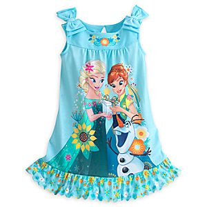 Frozen Fever Nightshirt for Girls