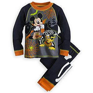 Mickey Mouse and Pluto Halloween PJ PALS for Boys